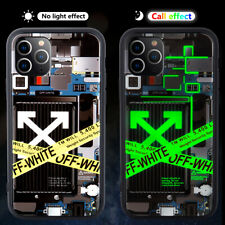 Hypebeast Sneaker LED Lights UP Flashing Case Cover For i Phone 11 Pro Max 7 US