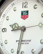 TAG HEUER LADIES KIRIUM DIVING WATCH 200 MT PROFESSIONAL WHITE WL1315