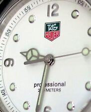 TAG HEUER LADIES KIRIUM DIVING WATCH 200 MT PROFESSIONAL WHITE WL1315