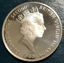 1985 BRITISH VIRGIN ISLANDS $20 SILVER PROOFS {925/%} SOLID STERLING/>/>GORGEOUS!!