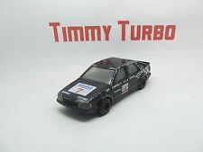 CORGI SAAB 9000 RACE OR RALLY CAR IN BLACK  105 MM LONG