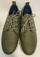 Vegan Call It Spring Men Casual Skater Shoes Olive Green Size 10.5