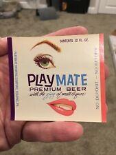 Playmate Premium Beer 12oz Ndnr Label; Playmate Brewing Co, Reading Pa; Unused!