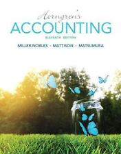 Horngren's Accounting (11th Edition)