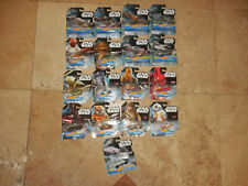 17 Hot Wheels STAR WARS CHARACTER CARS & CARSHIPS Including Imperial Royal Guard