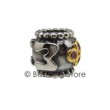 NEW Pandora Mum Gold Silver ALE Salmon Cubic Zirconia CZ Family Charm 790888CZS