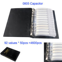 4600Pcs 92 Value 0805 SMD Chip Capacitor Sample Book Assortment Kit
