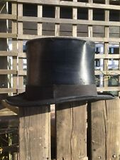 Vintage Lincoln Bennett & Co Silk Top Hat 56cm (UK Size 6 7/8)