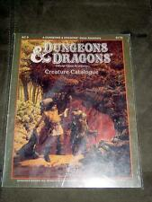 TSR - Dungeons & Dragons D&D - AC 9 Creature Catalogue #9173 - game accessory