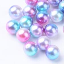 2586 300 Perlen ohne Loch   2,3,4,6 mm Eingießen Streudeko Rosa mehrfarbig