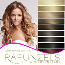 Remy Human Hair Silky Weft/Weave Hair Extensions | Rapunzels