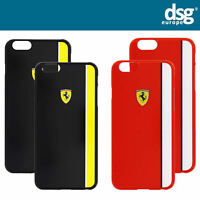 Official Ferrari Scuderia Glossy Hard Back Case Cover for iPhone 6  6s + Plus