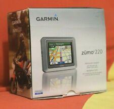Garmin ZUMO 220 motorcycle gps navigation - navigator for harley davidson, etc.