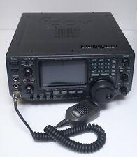 ICOM IC-746 HF VHF Transceiver Tuner Transmitter Amateur Radio +Mic JAPAN