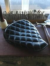 On The Frame Motorcycle Seat Sportster 2013 Leather Rich Phillips Leather Black