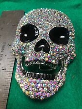 Crystal Skull 1 - 1.5 inch Buckle Set brand new in bag