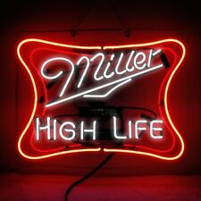 New Miller High Life Beer Acrylic Lamp Artwork Poster Neon Light Sign 17""