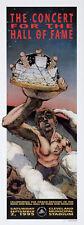 Derek Hess Rock Roll Hall Of Fame Poster - Bob Dylan Iggy Pop Chuck Berry P-Funk