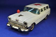 Blechauto / Tin Toy: Bandai Chevrolet 512, Krankenwagen / Ambulance, 1956
