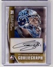 CURTIS JOSEPH 13/14 ITG Between the Pipes BTP Goaliegraph Auto Autograph A-CJ
