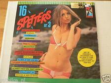 LP RECORD VINYL PIN-UP GIRL 16 SPETTERS NR 3 BASART A30-17 WIM ROMA,DE PIRATEN,