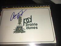 Allen Doyle 2006 US Senior Open Winner Signed Prairie Dunes Scorecard