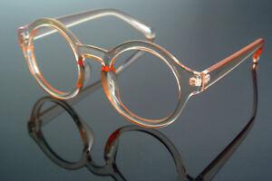 Vintage Round Tea Transparent Retro Reading Glasses +1 +125 +150 +175