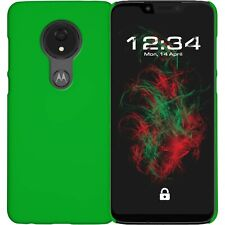 8bffbcf16 Case Hard Rubber Green for Motorola Moto G7 Power Protective Case Cover
