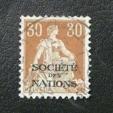 TIMBRES DE SUISSE : 1922/23 YVERT TIMBRES DE SERVICE N° 22 Oblitéré - TBE