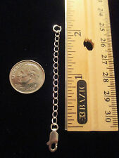 Extender - 925 silver bracelet/necklace extension 2 inches & lobster claw lock