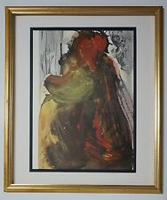 "'67 Salvador Dali Original Biblia Sacra #23 ""Planctus David"" Signed - COA"