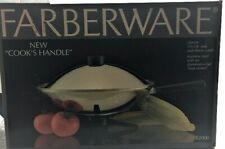 "LARGE 14"" Farberware Electric WOK Stainless Steel Heat Control NEW NIB 5.5 Quart"