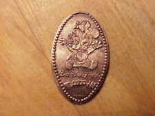 MINNIE MOUSE...TOON..TOWN..WALT DISNEY.. ON ELONGATED  COPPER CENT..#70