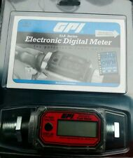 New GPI electronic digital fuel meter 01A31GM New in Packaging free shipping