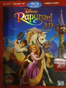 Rapunzel - BLU RAY DISNEY 3D