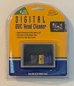 Digital DVC Head Cleaner DVC-CK Digital Concepts Brand New Sealed