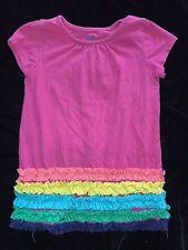 girls 2 pc lot size 24 month Rainbow Ruffle Top Shirt purple Sleeper 1 Pc pajama