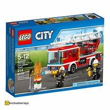 LEGO 60107 CITY Fire Ladder Truck BRAND NEW AND SEALED