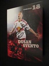 66579 Dusan Svento RB Salzburg original signierte Autogrammkarte