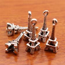 30Piece 21*8mm Eiffel Tower Charms Tibetan Silver Bail DIY Jewelry Finding 7097A