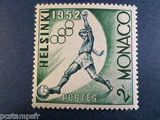 MONACO 1953, timbre 387, SPORT, JEUX OLYMPIQUES, FOOTBALL, neuf**, MNH STAMP