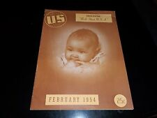 1954 Us Magazine, Memphis TN Black Magazine, Only Known Copy of Only Issue RARE!