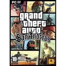 GRAND THEFT AUTO SAN ANDREAS PC, ottima Windows XP, Windows Vista, VIDEO PC G