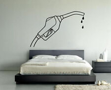 Removable Vinyl Sticker Mural Decal Wall Decor Poster Gun Gas Station VY235