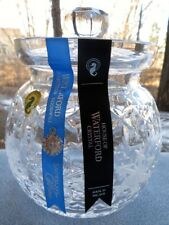 WATERFORD Crystal Snowflake Wishes Biscuit Cookie Jar Goodwill Kerry New in Box