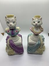 Fitz & Floyd Duchess of Catworth & Duke Of Yorkshire Terrier Figurines