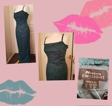 STUNNING Long Green Lace Monsoon Twilight Party Dress UK 10-12 BNWT