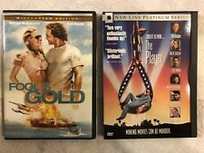 ✳� Fool'S Gold + The Player 🚨2 Dvd Set🚨