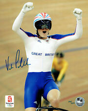 Victoria PENDLETON Signed Autograph Olympic Games Official Photo A COA AFTAL
