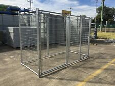 Pet Enclosure Panel Fencing Outdoor DOG Kennel Dog Run Cage Panel